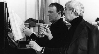 Richard Rodney Bennett y Kenneth MacMillan (coreógrafo)