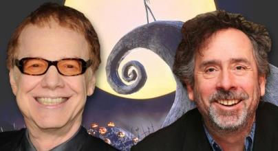 Tim Burton y Danny Elfman