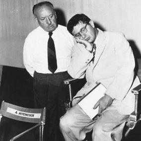 Alfred Hitchcock y Bernard Herrmann