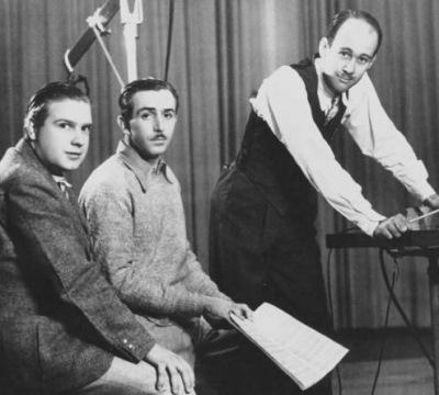 Leigh Harline,Walt Disney y Frank Churchill