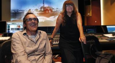 Alberto Iglesias con Isabel Coixet