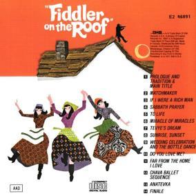 'El violinista en el tejado' (1972)