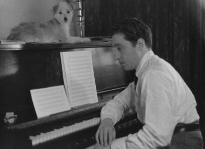 Harold Arlen y su mascota
