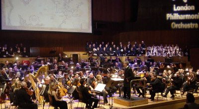 Howard Shore dirige the London Philharmonic Orchestra