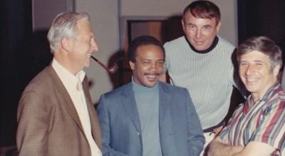 Jack Hayes, Quincy Jones, Leo Shuken y Elmer Bernstein