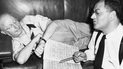 Jerome Kern con el letrista Ira Gerswhin