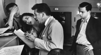 Stephen Sondheim y Leonard Bernstein West Side Story