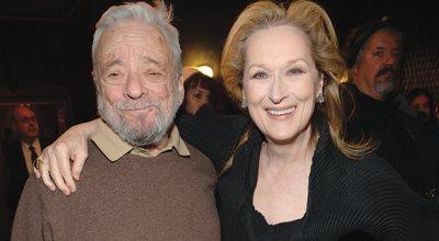 Stephen Sondheim y Meryl Streep