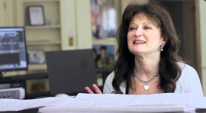Debbie Wiseman en estudio