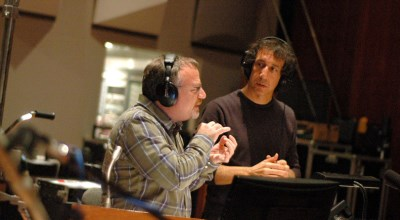 Jeff Atmajian con Marc Shaiman
