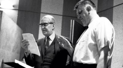 Maurice Chevalier con George Bruns