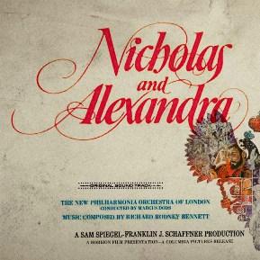 'Nicholas y Alexandra', Richard Rodney Bennett (1971)