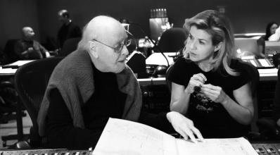 John Williams y la violinista Anne Sophie Mutter