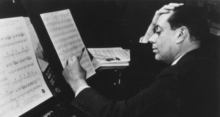 Porter componiendo