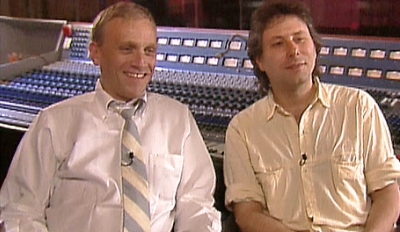 Howard Ashman con Alan Menken