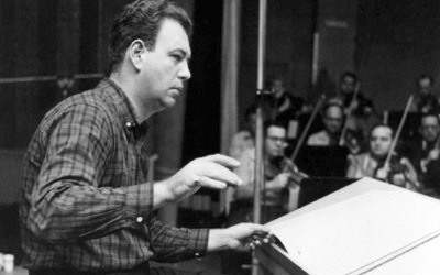 Nelson Riddle orquestando banda sonora