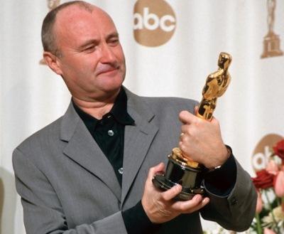 Phil Collins y el Óscar de Hollywood