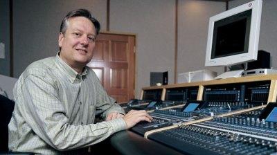 Don Davis en el estudio