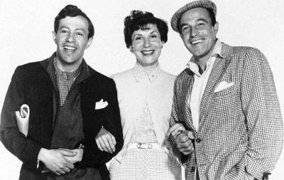 Adolph Green, Betty Comden y Gene Kelly