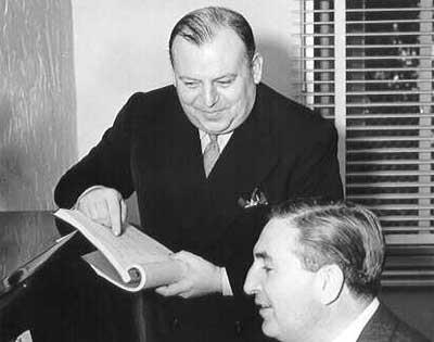 Al Dubin con Harry Warren