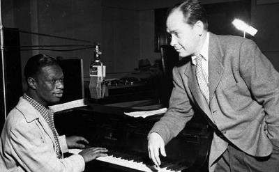 Johnny Mercer y Nat King Cole