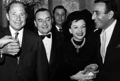 Judy Garland, Pat Boone, Tony Bennett y Johnny Mercer