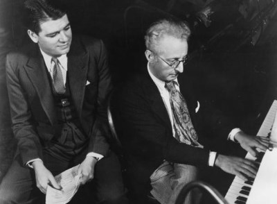 Oscar Hammerstein con Jerome KernI