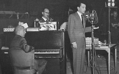 Sammy Cahn, Jimmy Van Heusen y Frank Sinatra
