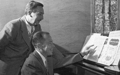 Walt Disney con Johnny Mercer
