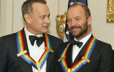 Sting y Tom Hanks