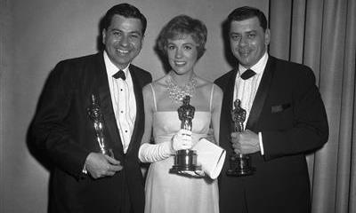 Hermanos Sherman y Julie Andrews
