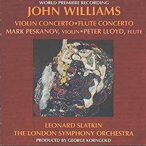 John Williams concerto violin y flauta