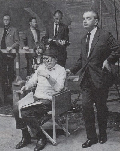 Miklós Rózsa con Billy Wilder