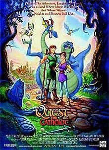 La espada mágica En busca de Camelot (1998)